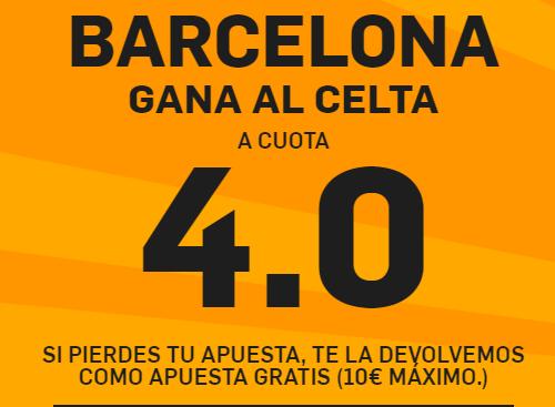 Barcelona gana al Celta