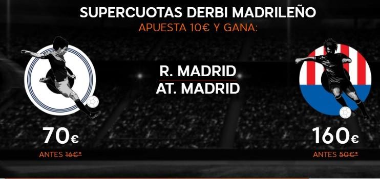 Promoción derbi madrileño en 888 Sport