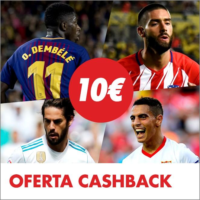 Consigue 10 euros con cada victoria española