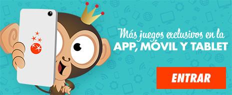 Disfruta de juegos exclusivos con la App