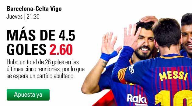 Apuesta con BetStars en el FC Barcelona - Celta de Vigo