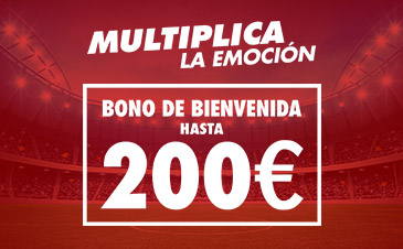 Consigue hasta 200 euros con Sportium
