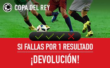 Haz tus apuestas en la Copa del Rey