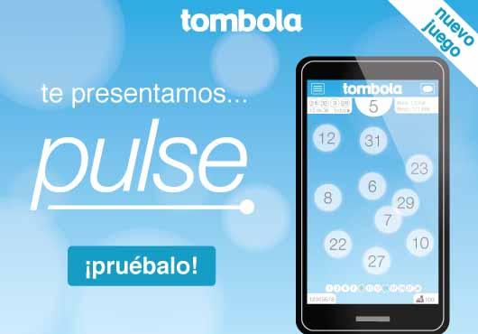 Descubre Pulse, el nuevo juego de Tómbola