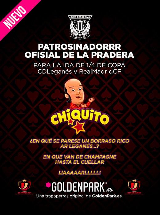 La slot de Chiquito de la calzada, protagonista en el Leagnés - Real Madrid