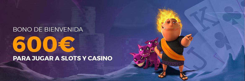 Consigue hasta 600 euros con el casino de Pastón.es