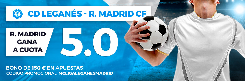 Cuota mejorada a favor del Real Madrid