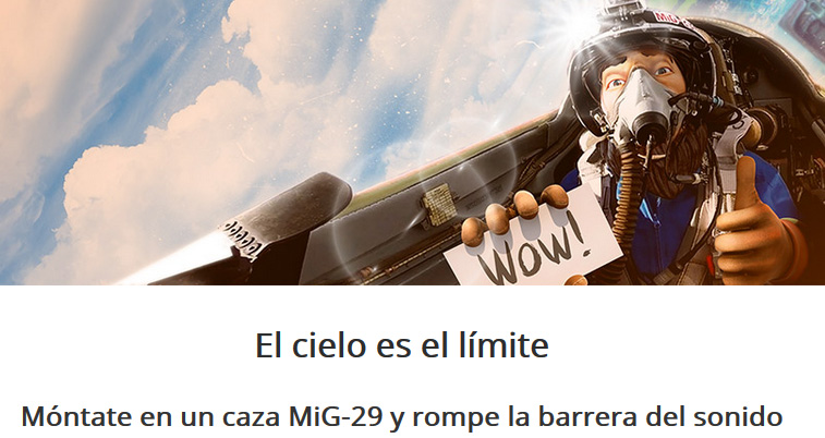 Betsson te lleva al cielo con un Mig-29