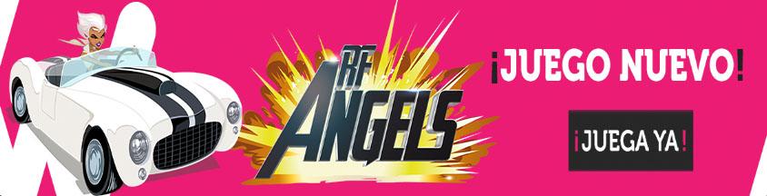 Ya puedes jugar en Wanabet a la tragaperras RF Angels