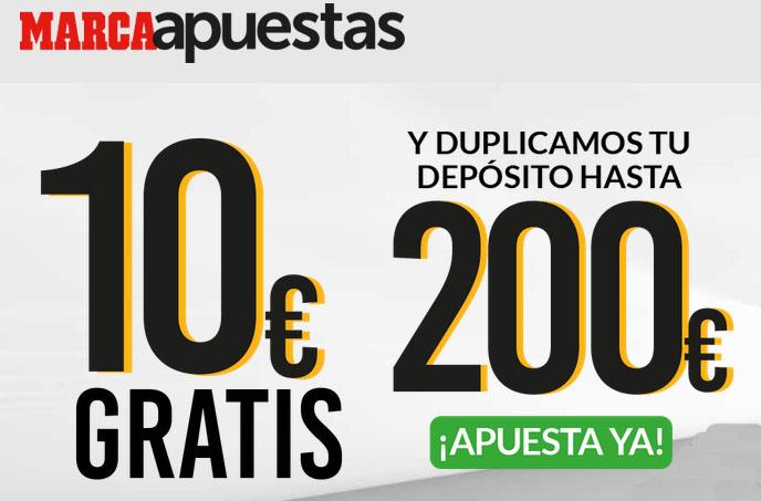 Consigue más de 200 euros al registrarte en Marca Apuestas