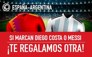 Apuesta con Sportium al España - Argentina