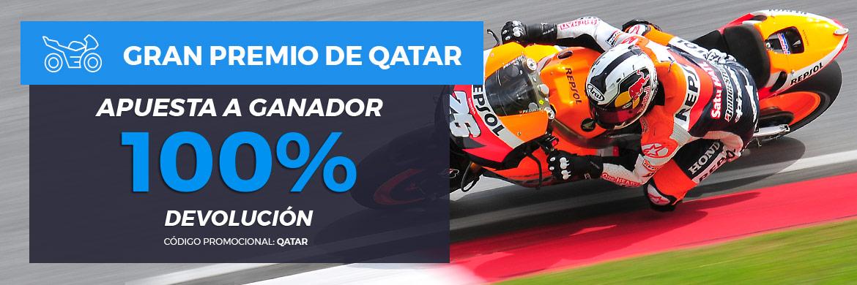 Apuesta al GP de Qatar con Pastón