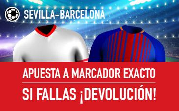 Promoción para el Sevilla-FC Barcelona
