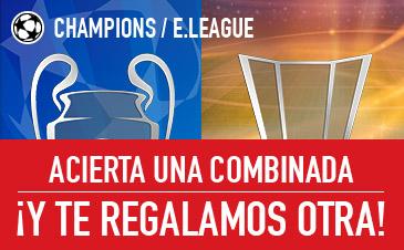Promo Champions League y Europa League