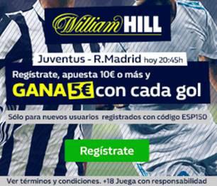Gana 5 euros con William Hill