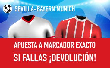 Promoción para el Sevilla - Bayern de Munich