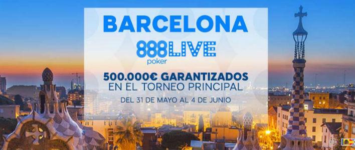 888 Live Póker Barcelona