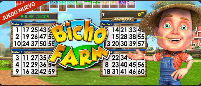 Bicho Farm, en Todoslots
