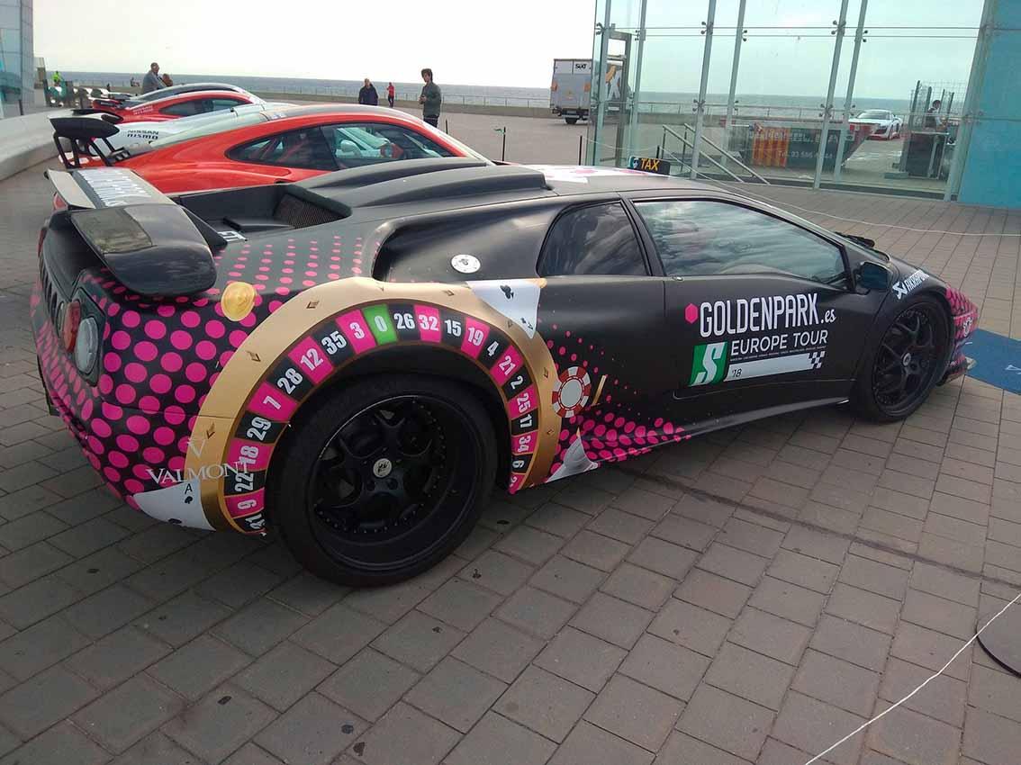 Lamborghini Diablo con Goldenpark