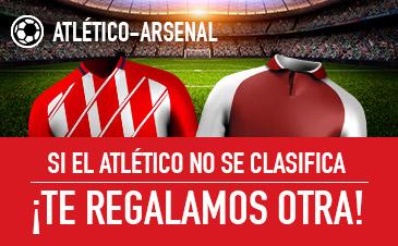 Promoción de Sportium para el Atlético de Madrid - Arsenal