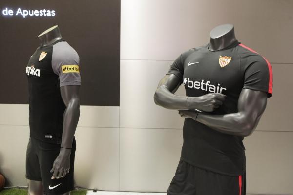 Betfair patrocinará al Sevilla