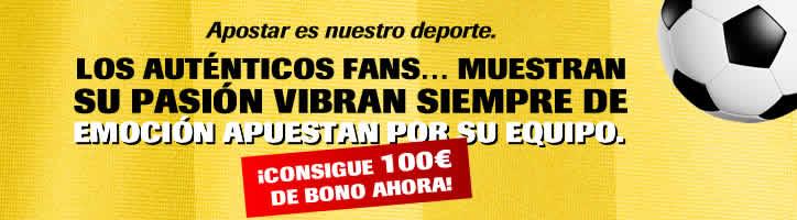 Bono de 100 euros con Interwetten