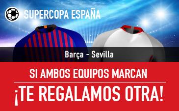 Promoción de Sportium para la Supercopa de España