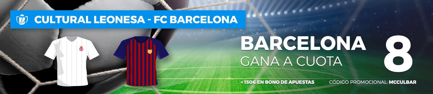 Cuota mejorada a favor del FC Barcelona