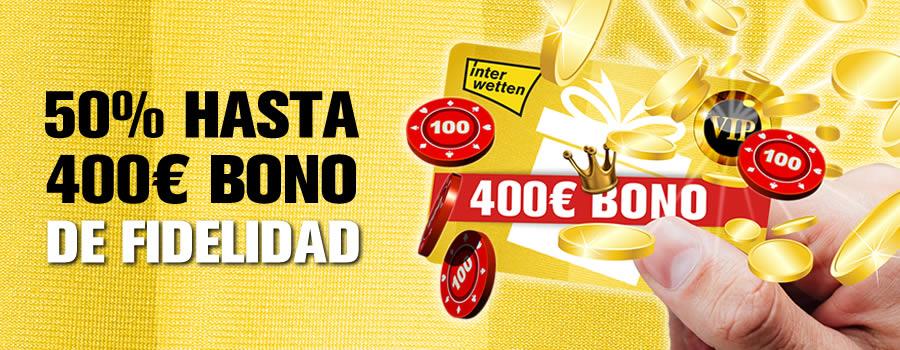 Hasta 400 euros de bono de fidelidad