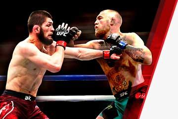 McGregor se enfrenta a Khabib