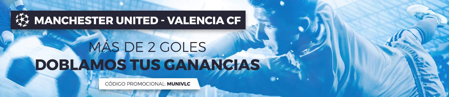 Promoción para el Manchester United - Valencia
