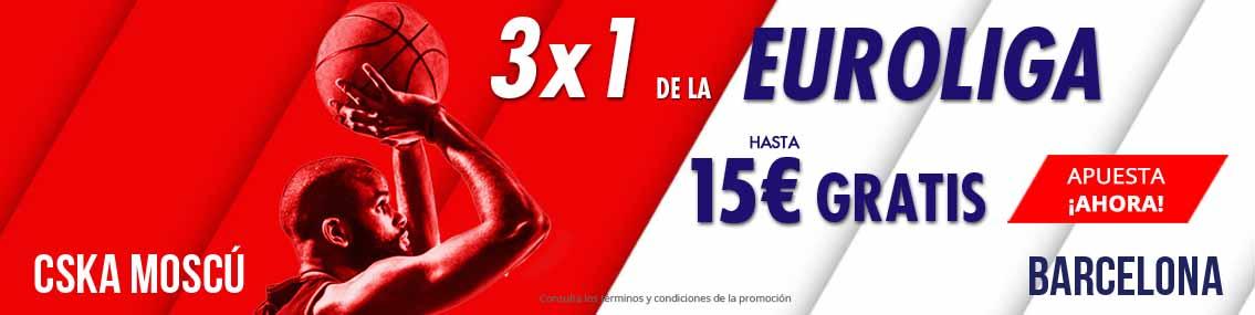 Consigue hasta 15 euros