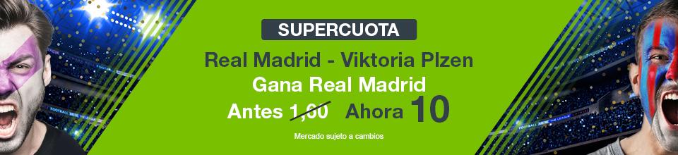 Supercuota a favor del Real Madrid