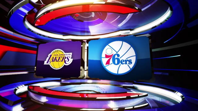 NBA Lakers Sixers Codere