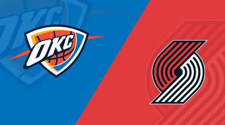 NBA Thunder Blazers Betsson
