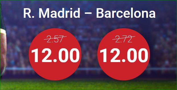 Real Madrid FC Barcelona Supercuota Marathon Bet