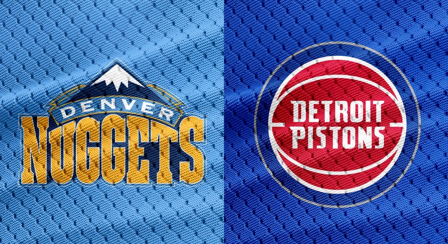 Nuggets Pistons NBA Codere