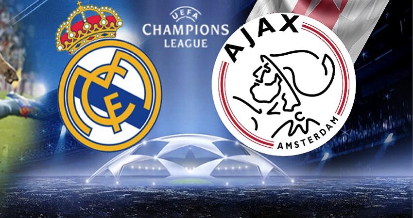 Real Madrid Ajax Champions Apuestas