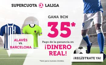 Alavés FC Barcelona SUPERCUOTA Wanabet