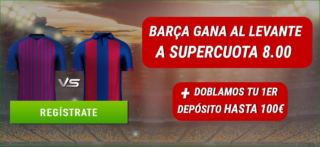 Sportium Supercuota FC Barcelona Levante Apuestas