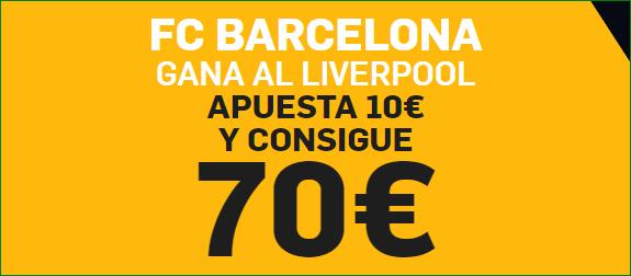 Apuesta Betfair FC Barcelona Liverpool