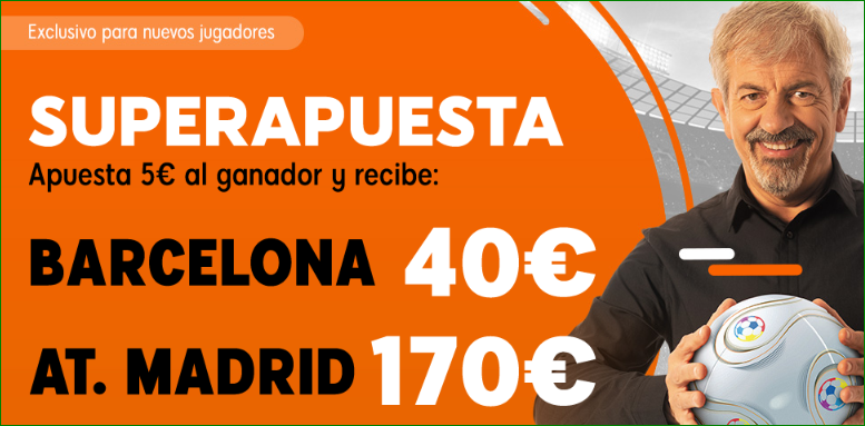FC Barcelona At. Madrid Apuestas Luckia