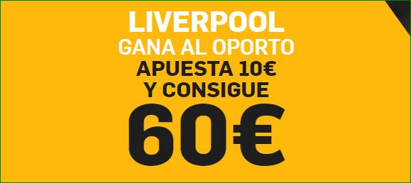Liverpool Oporto Supercuota Betfair