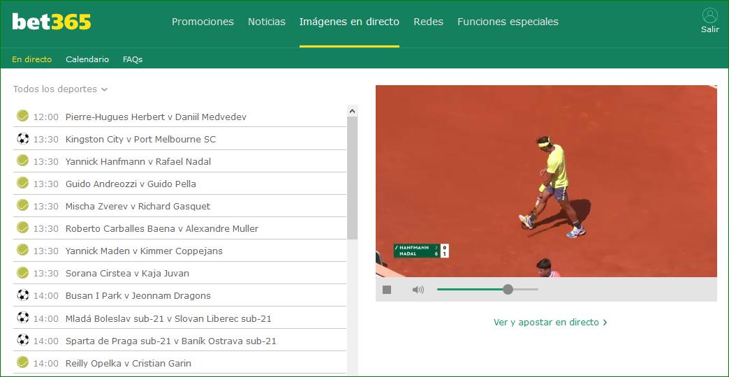 Directo Roland Garros 2019 Gratis