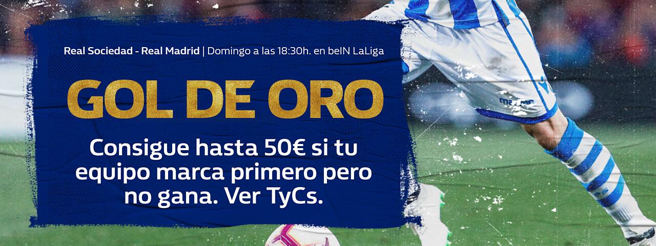 Gol de oro Real Sociedad Real Madrid