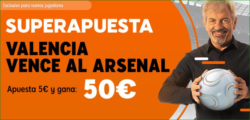 Valencia Arsenal 888 Sport