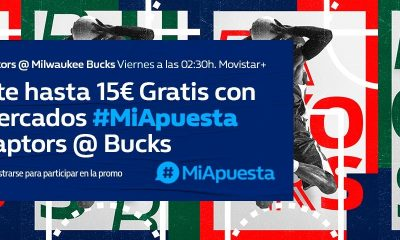 #MiApuesta Milwaukee Bucks Toronto Raptors William Hill