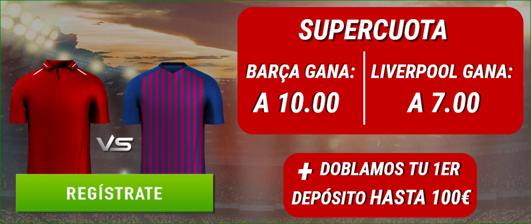 Liverpool FC Barcelona Sportium