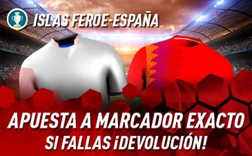 Apuestas Islas Feroe España Euro 2020