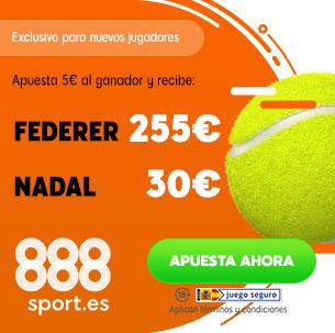 888Sport Federer Nadal Apuestas